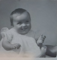 Anita as a baby!