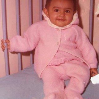 Farina as a baby....