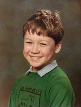 Chris at St Richard's Primary School